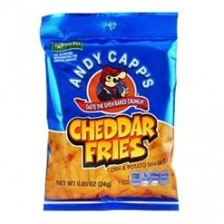 Andy Capp Cheddar Fries 24g