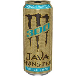 Monster Energy Java 300 Triple Shot French Vanilla