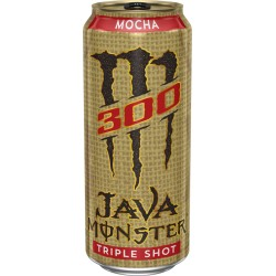 Monster Energy Java 300 Triple Shot Mocha