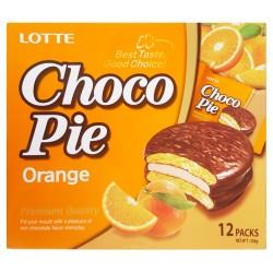 Lotte Choco Pie Orange Box