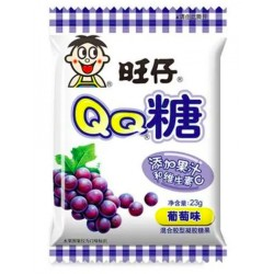 Want Want Gummy Candy Grape 23g