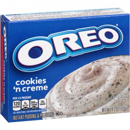 Jell-O Oreo Instant Pudding