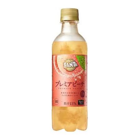 Fanta Premier Peach Japan