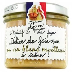 Lucien Georgelin Delice de Foie Gras Blanc Moelleux