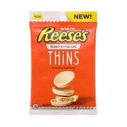 Reese's White Peanut Butter Cups Thins 87g