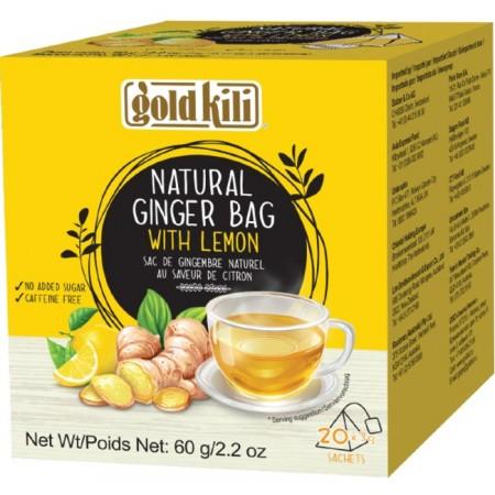 Gold Kili Natural Ginger Lemon Drink