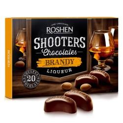 Roshen Shooters Chocolates Brandy Liquor