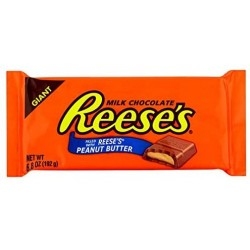 Reese's Milk Chocolate Peanut Butter Bar Giant