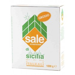 Italkali Sale di Sicilia Piu Iodio Grosso 1kg