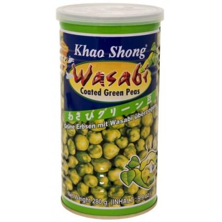 Khao Shong Wasabi Green Peas 280g