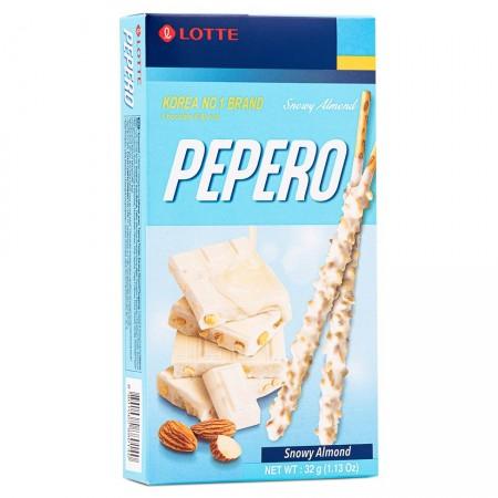 Lotte Pepero Snowy Almond