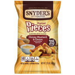 Snyder's Honey Mustard & Onion 63g