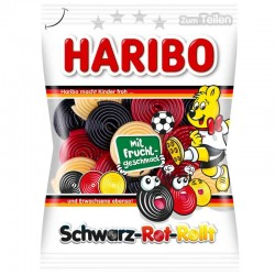 Haribo Schwarz-Rot-Rollt
