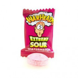 Warheads Extreme Sour Hard Candy Watermelon