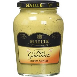 Maille Moutarde Fins Gourmets Pointe D'Espices