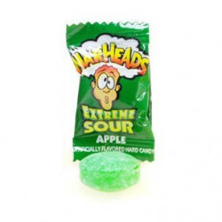 Warheads Extreme Sour Hard Candy Apple