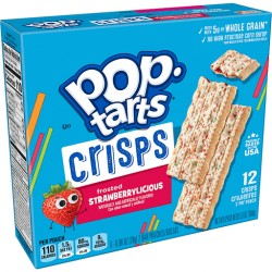 Pop Tarts Crisps Frosted Strawberrylicious