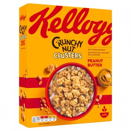 Kelloggs Crunchy Nut Peanut Butter Clusters