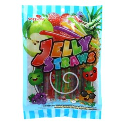 Jelly Straws Assorted Flavour