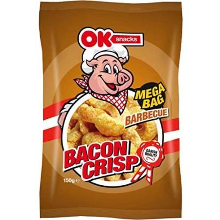 Ok Snacks Bacon Crisp Barbecue 150g