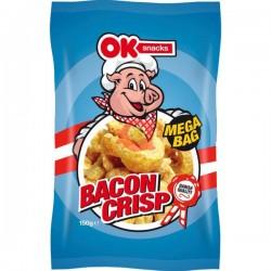 OK Snacks Bacon Crisp Mega Bag