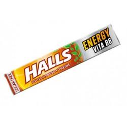 Halls Energy Ice Tea + Theine Sugar Free