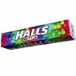 Halls Colors Fruit Flavour Mix