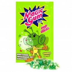 Pop Rocks Magic Gum Apple