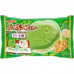 Meito Puku Puku Tai Fish Wafer Melon Soda