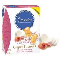 Gavottes Crepes Fourrees Bakon & Mozarella