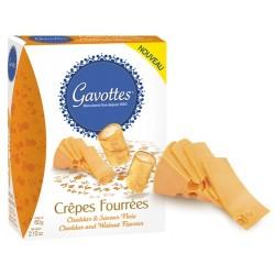 Gavottes Crepes Fourrees Cheddar & Walnut