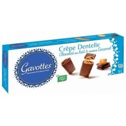 Gavottes Crepes Dantelle Chocolat au Lait & Caramel