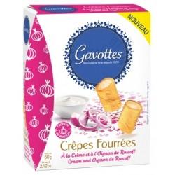 Gavottes Crepes Fourrees Cream and Oignon de Roscoff