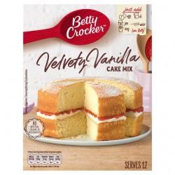 Betty Crocker Velvety Vanilla Cake Mix