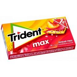 Trident Max Watermelon-Peach Gum