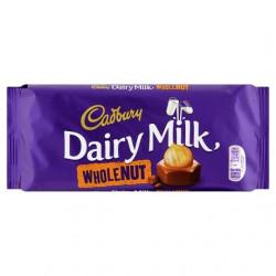 Cadbury Dairy Milk Whole Nut Chocolate