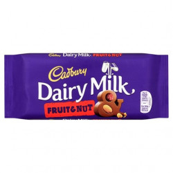 Cadbury Dairy Milk Fruit And Nut Chocolate