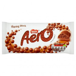 Aero Bubbly Milk Chocolate
