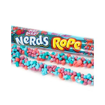 Wonka Very Berry Nerds Rope
