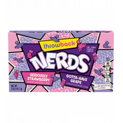 Wonka Nerds - Strawberry Grape Theatre Box