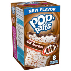 Pop Tarts Frosted A&W Root Beer
