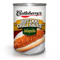 Castleberry's Hot Dog Chili Jalapeno