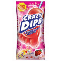Chupa Chups Crazy Dips Strawberry