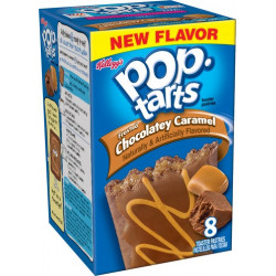 Pop Tarts Frosted Chocolate Caramel Box