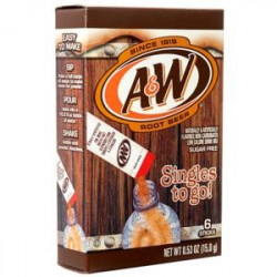A&W Root Beer Singles to go!