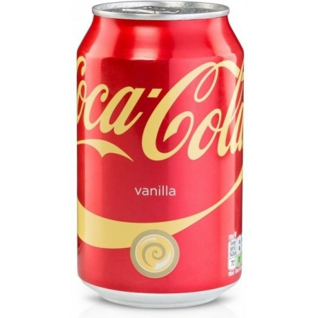 Coca Cola Vanilla UK