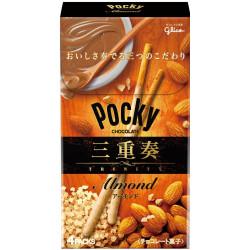 Pocky Trinity Almond