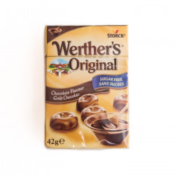 Werther's Original Chocolate Flavour No Sugar
