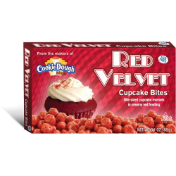 Cookie Dough Red Velvet Bites
