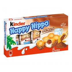 Kinder Happy Hippo Kakao 5 szt.